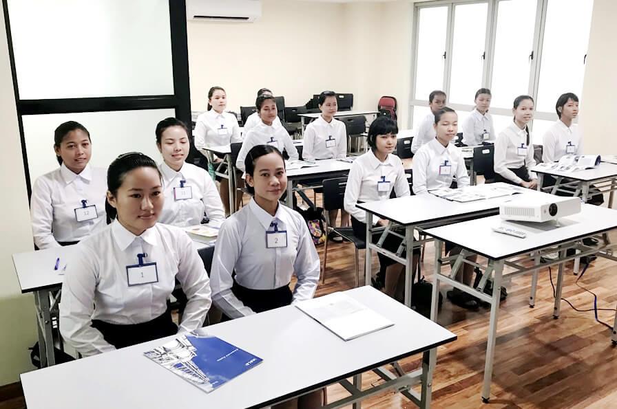 外国人技能実習生受け入れの流れ
