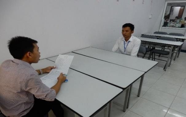 プラスチック成形の技能実習生採用の為ミャンマーへ面接に行きました