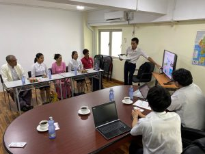 介護技能実習生採用の面接の為、ミャンマーへ行きました