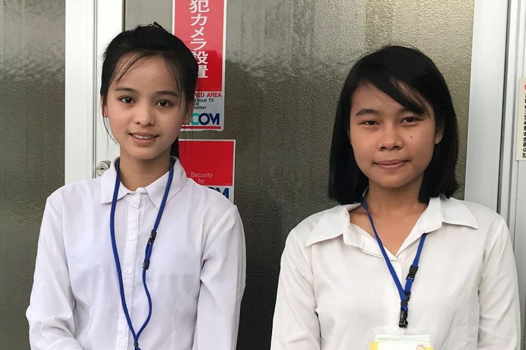 大阪府の溶接作業現場に技能実習生が2名配属されました