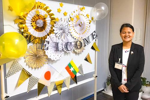 埼玉県の介護施設でミャンマー人介護技能実習生が1名配属