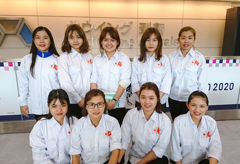 埼玉県の工業包装企業に配属のベトナム人技能実…