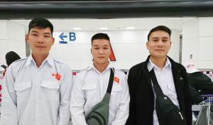 福岡県で建設機械施工企業に配属の技能実習生が入国しました