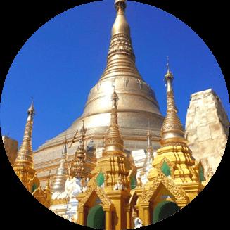 ミャンマーパゴダ