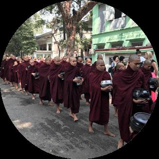 ミャンマーの風景
