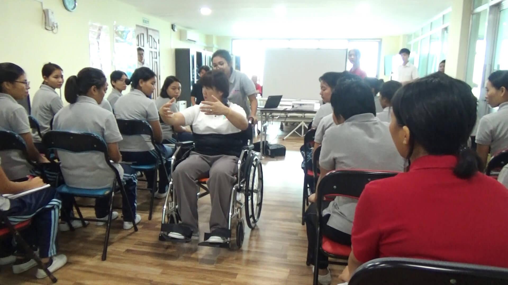 介護実技授業2