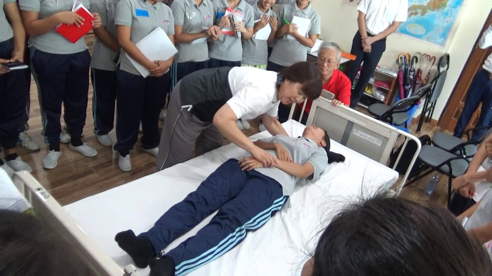 介護技能授業