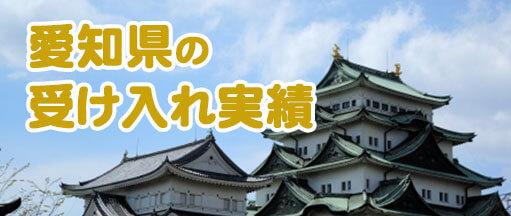 愛知県受け入れ実績