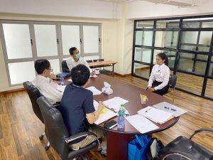 ミャンマー人介護技能実習生の面接の同行をしました