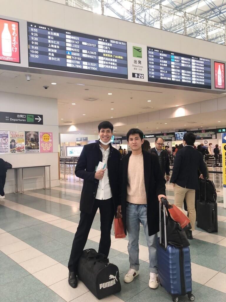 福岡のベトナム人実習生が満期で帰国しました