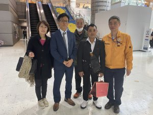 ミャンマー人技能実習生が3年満期で帰国しました