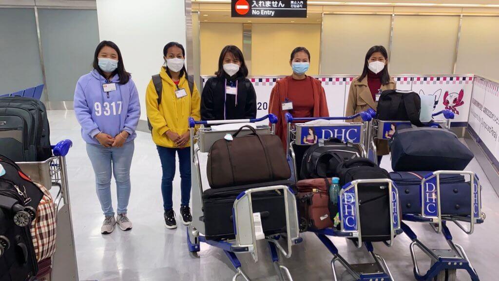 ミャンマー人技能実習生が入国しました!